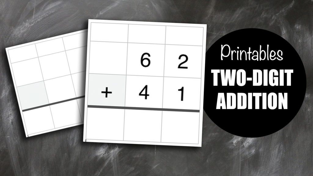 Two-Digit Addition Worksheet Templates - free