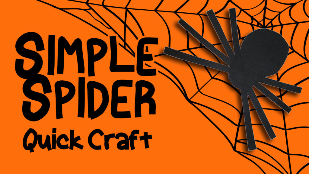 Preschool Craft - Simple Spider