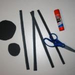 Preschool Craft - Simple Spider - Step Two