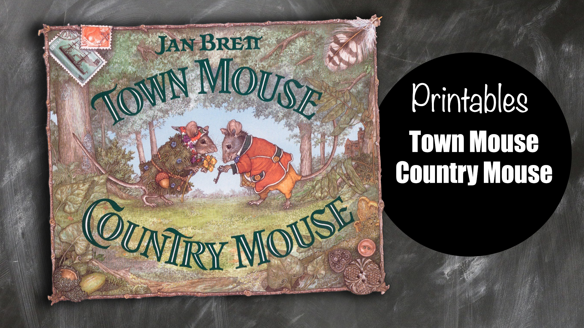 Town Mouse Country Mouse worksheets - free printable